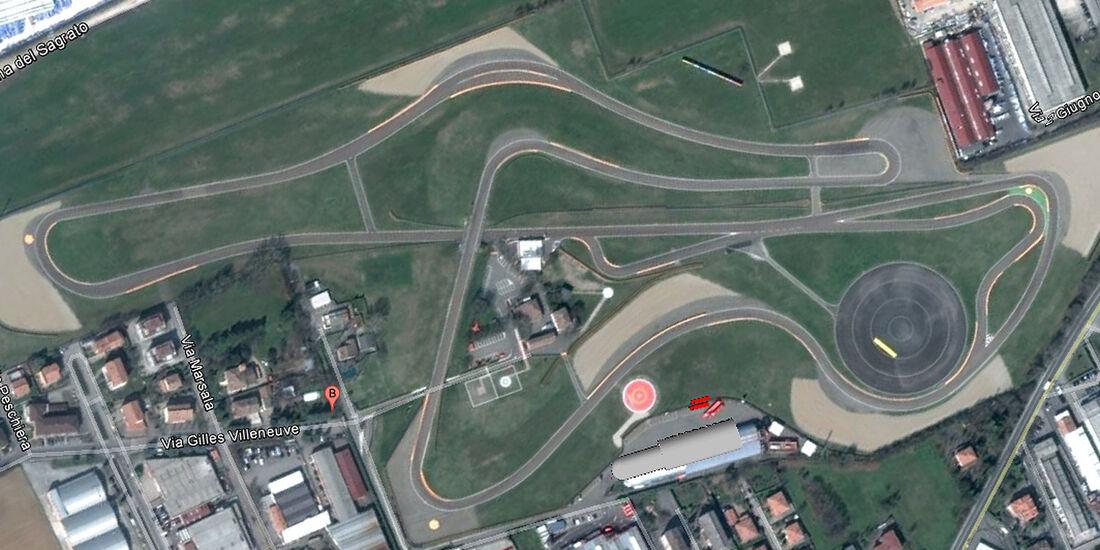 04/2012, Teststrecke, Ferrari Fiorano
