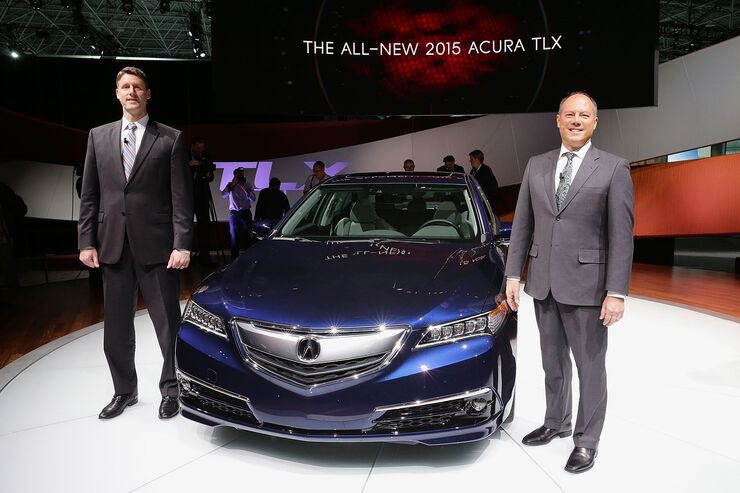 04/2014 New York Auto Show Accura TLX
