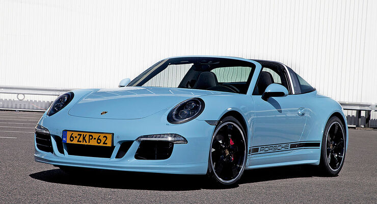 04/2015 Porsche 911 Targa 4S Exclusive Edition