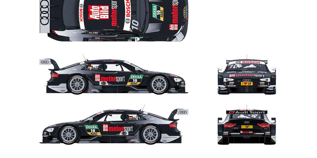 04/2016 Audi RS 5 DTM 2016 Audi DTM Rennwagen