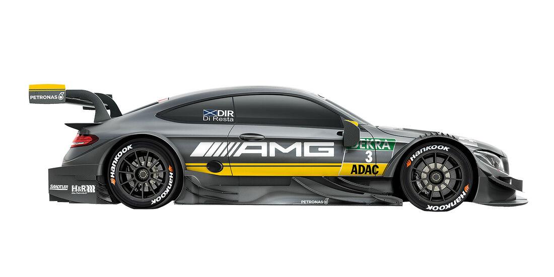 04/2016, Mercedes DTM C63 AMG di Resta