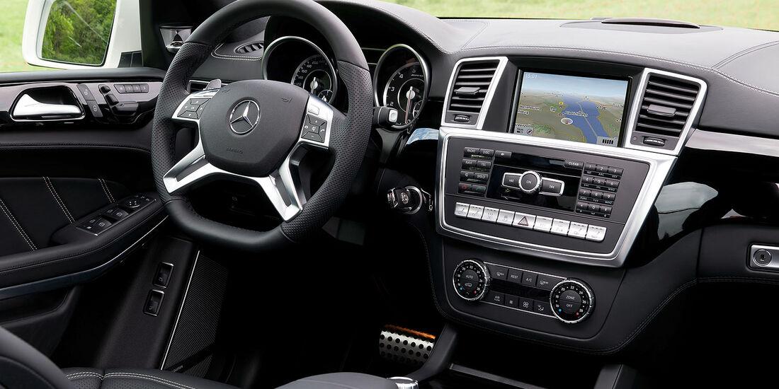 05/2012, 2012 Mercedes GL 63 AMG, Innenraum