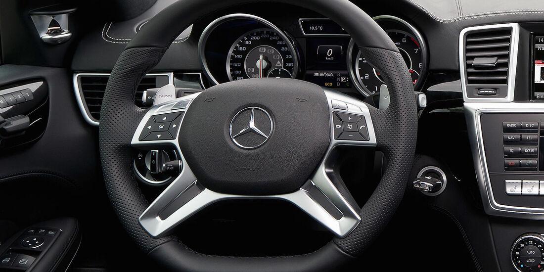 05/2012, 2012 Mercedes GL 63 AMG, Lenkrad