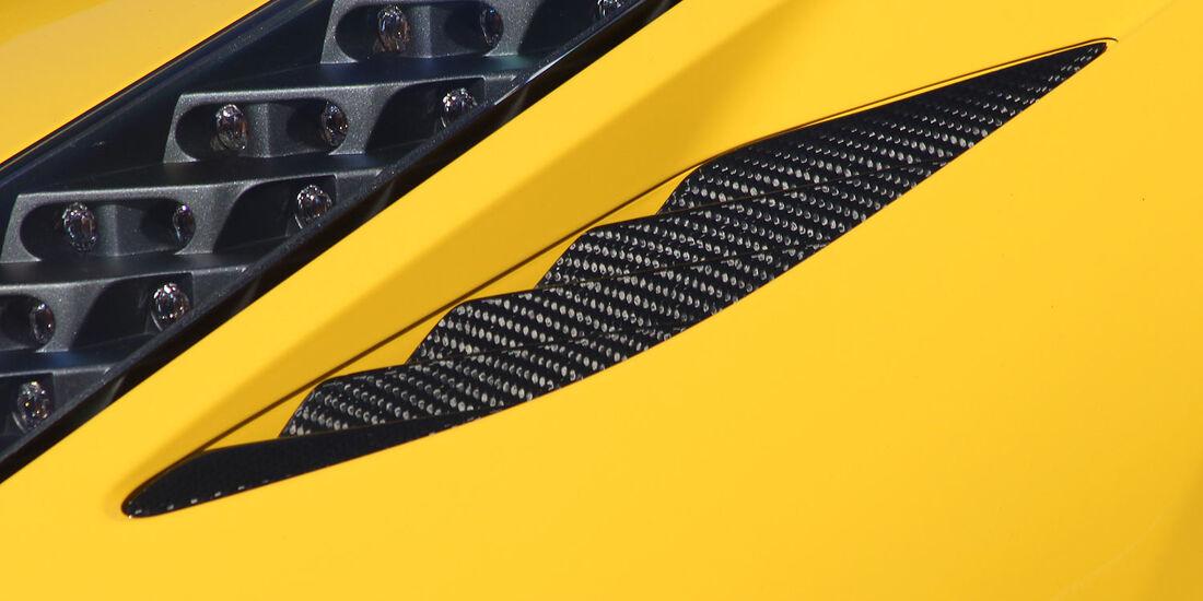 05/2012, Novitec Rosso Ferrari 458 Spider, Entlüftungskiemen
