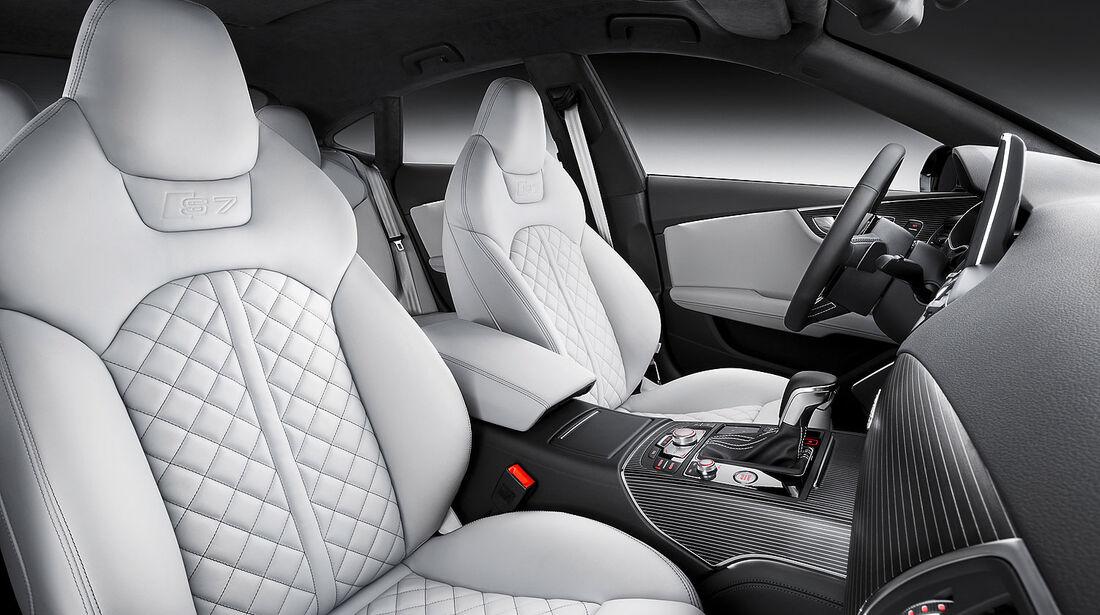 05/2014 Audi S7 Facelift, Innenraum