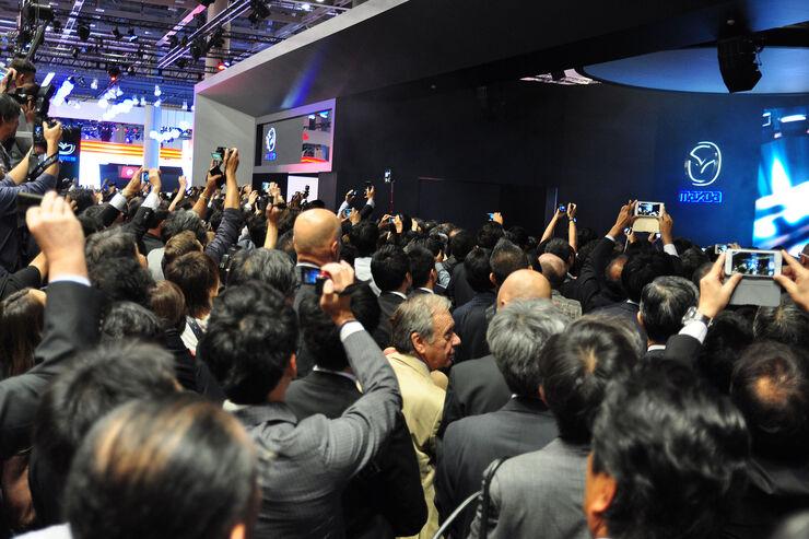 05/2015, Tokio Motor Show 2015 Journalisten