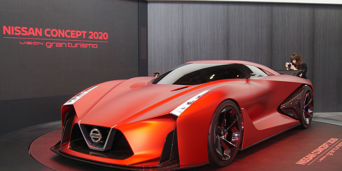 05/2015, Tokio Motor Show 2015 Nissan Vision 2024