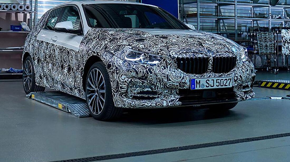 05/2019, BMW 1er F40 Teaserfotos