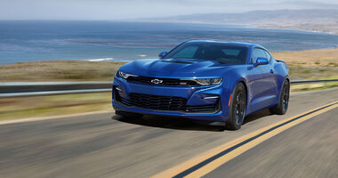 05/2019, Chevrolet Camaro Facelift MY 2020