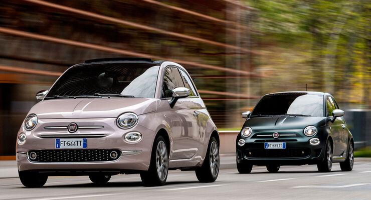 05/2019, Fiat 500 Modelljahr 2020