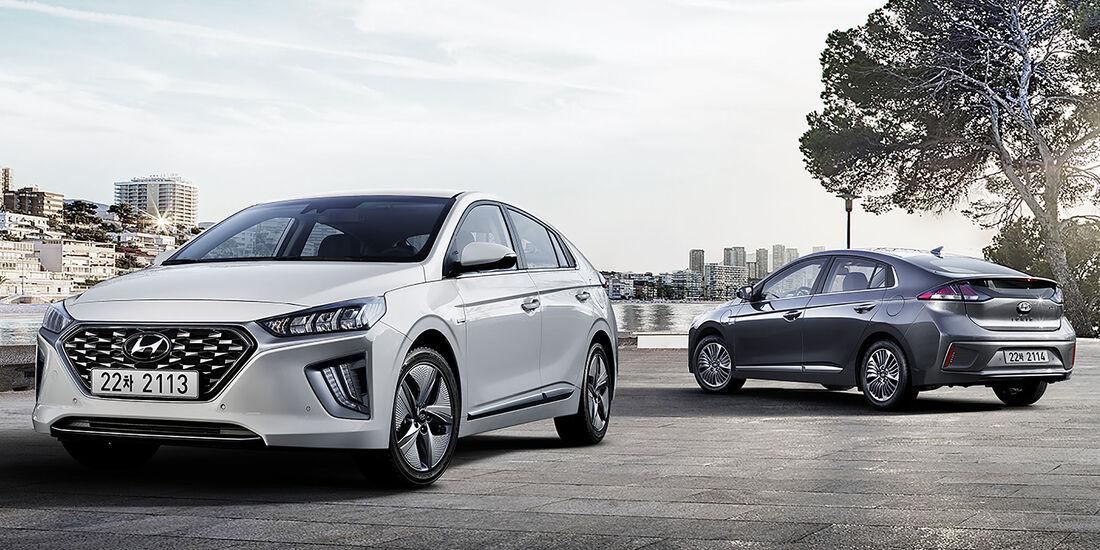 05/2019, Hyundai Ioniq Hybrid + PHEV Facelift MY 2020