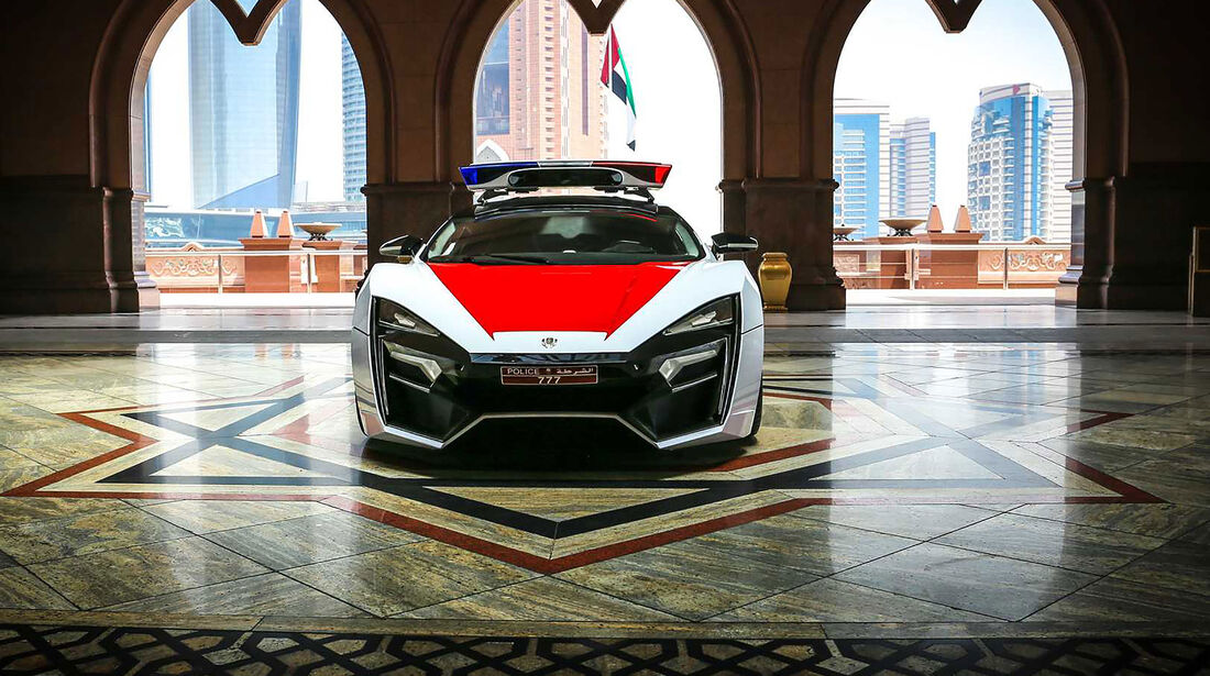 05/2019, W Motors Lykan Hypersport Special Forces Polizeiauto