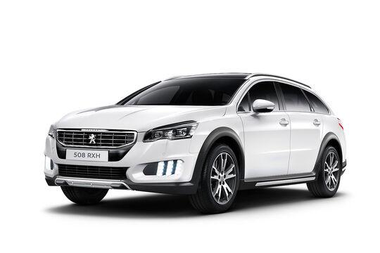 06/2014, Peugeot 508 RXH Facelift