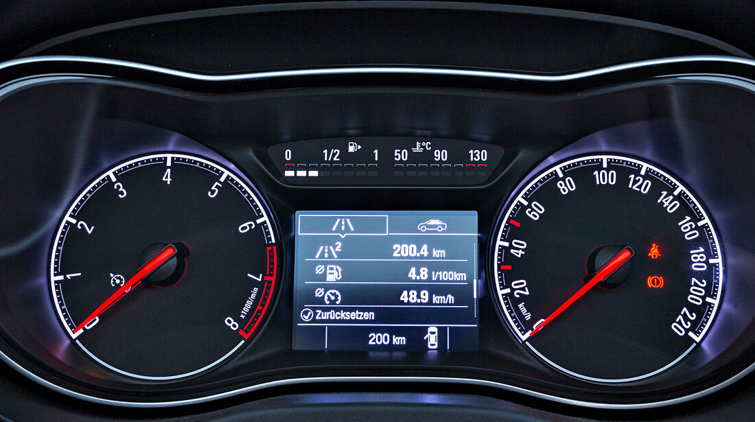 07/2014, Opel Corsa, Modellwechsel, Instrumente, Cockpit