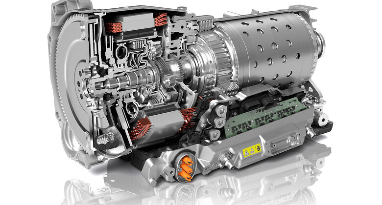 07/2019, ZF 8HP Acht-Gang-Automatikgetriebe