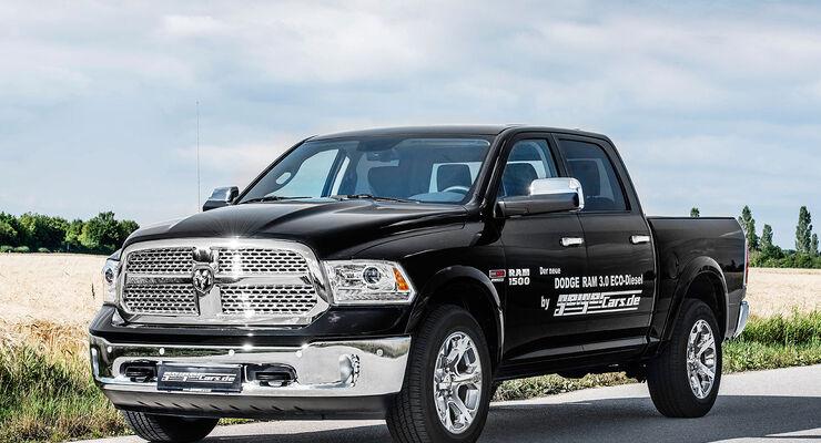 Dodge Ram 1500 EcoDiesel: US-Maxi-Pickup mit Dieselpower ...