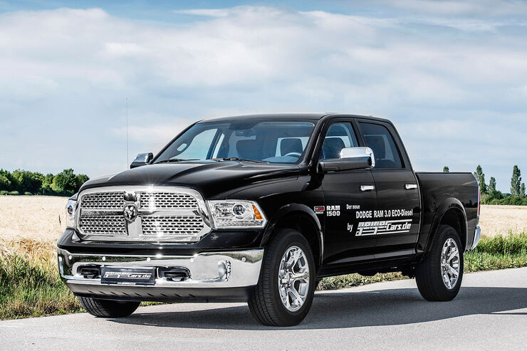 dodge ram 1500 ecodiesel us maxi pickup mit dieselpower auto motor und sport. Black Bedroom Furniture Sets. Home Design Ideas