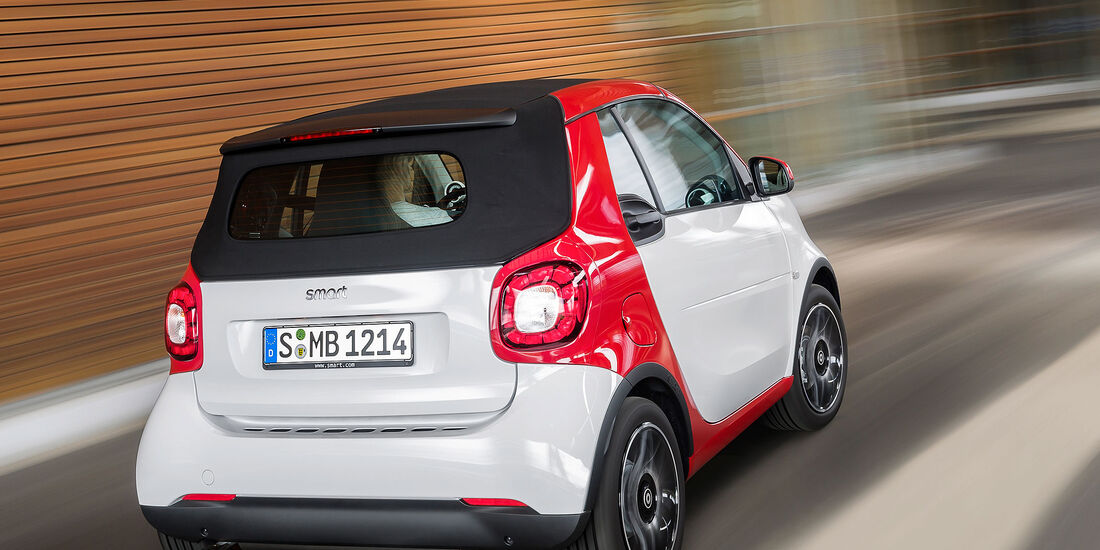 08/2015, Smart Fortwo Cabrio 28.8.2015 Sperrfrist