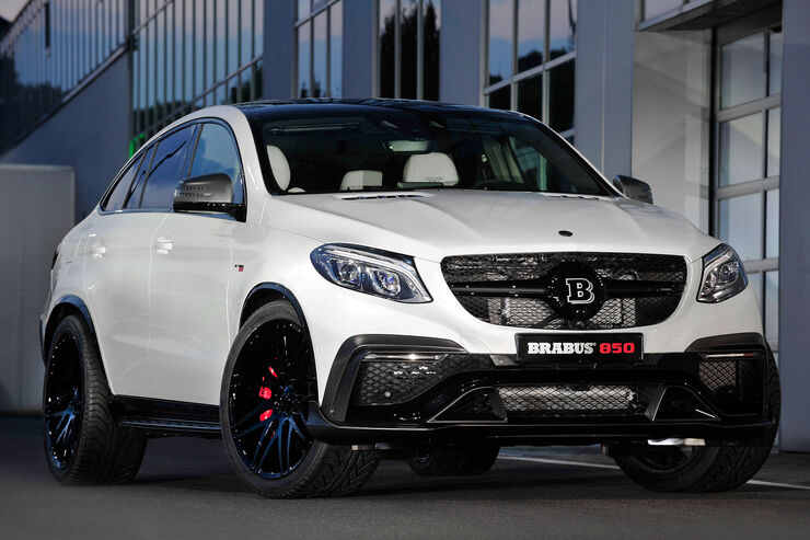 09/2015, BRABUS 850 6.0 Biturbo 4x4 Coupé auf Basis Mercedes GLE 63 Coupé