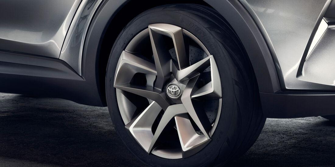 09/2015, Toyota C-HR Concept IAA