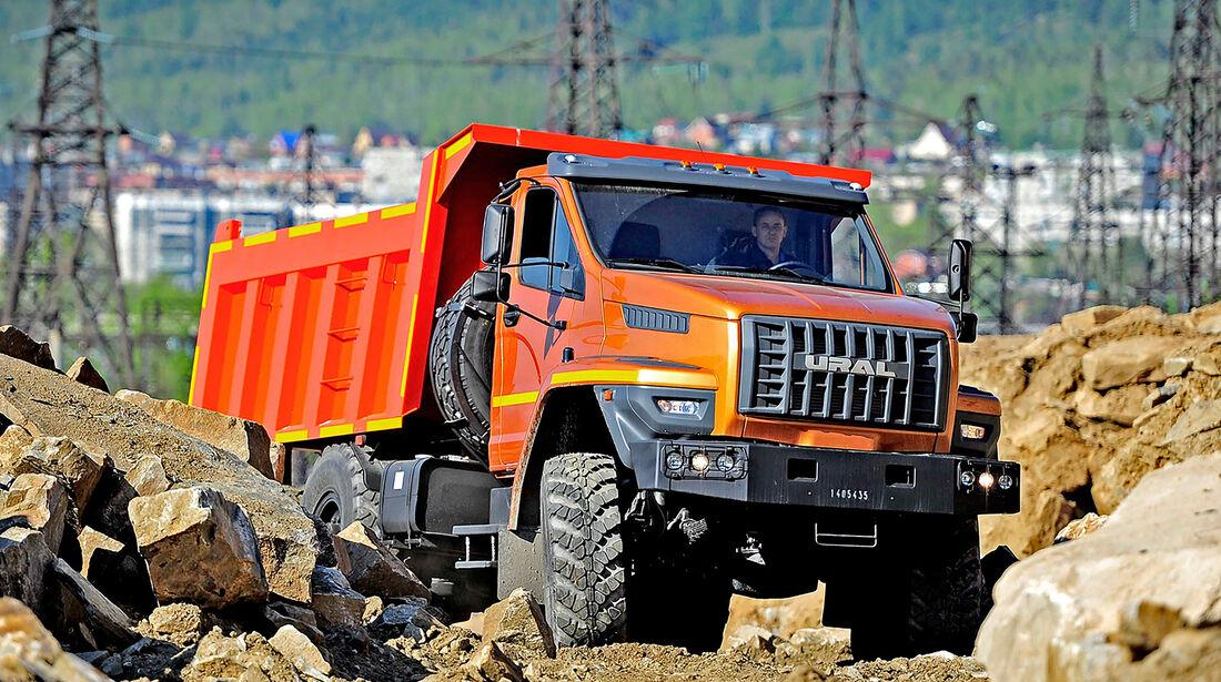 09/2016, GAZ Ural Lkw IAA Nutzfahrzeuge
