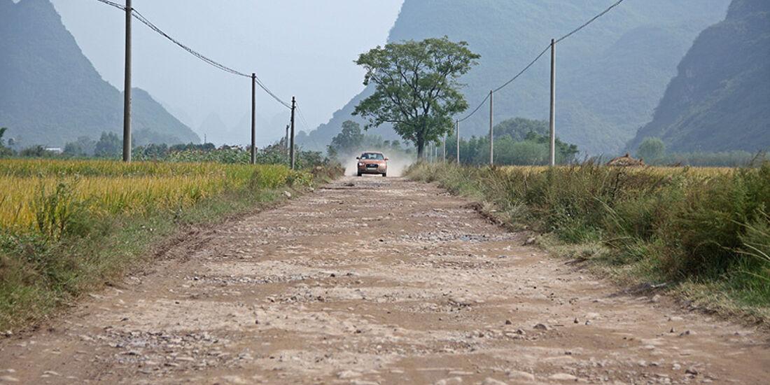 10/2011 Audi Q3 Trans China Tour 2011, Tag 13, Guilin – Yangshuo