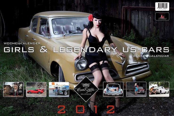10/2011 Girls & legendary US-Cars 2011 Wochenkalender