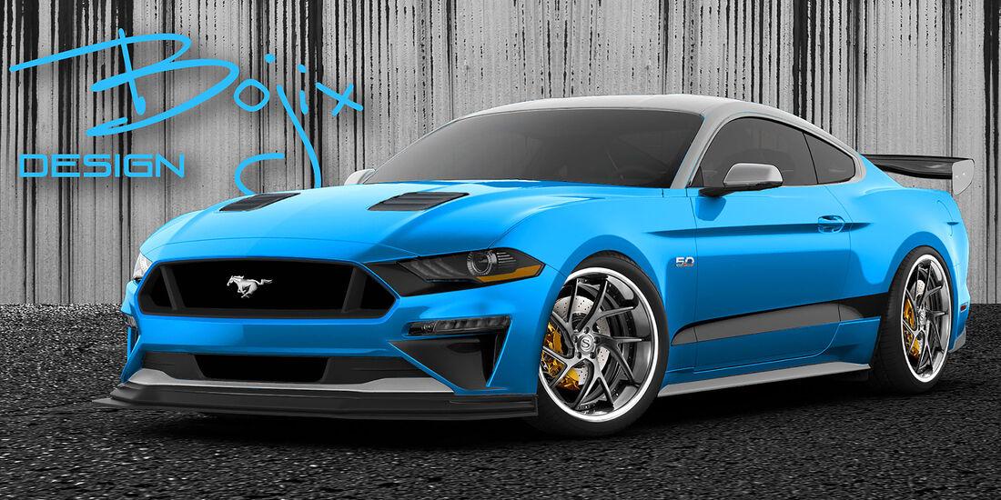 10/2018, Bojix Design Ford Mustang GT auf der SEMA Show 2018