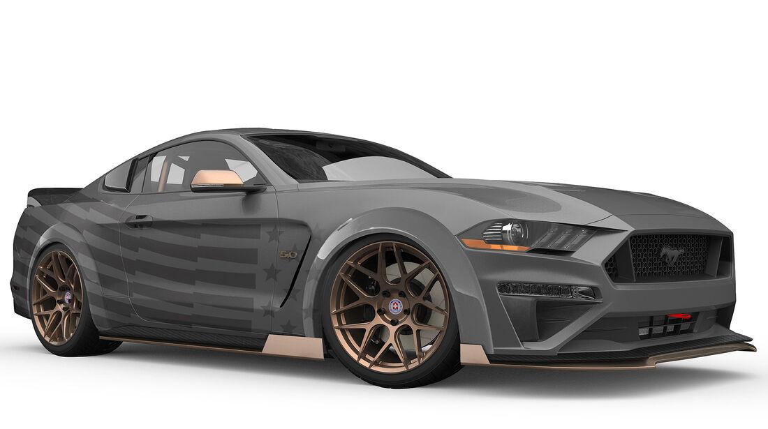 10/2018, CJ Pony Parts Ford Mustang GT auf der SEMA Show 2018