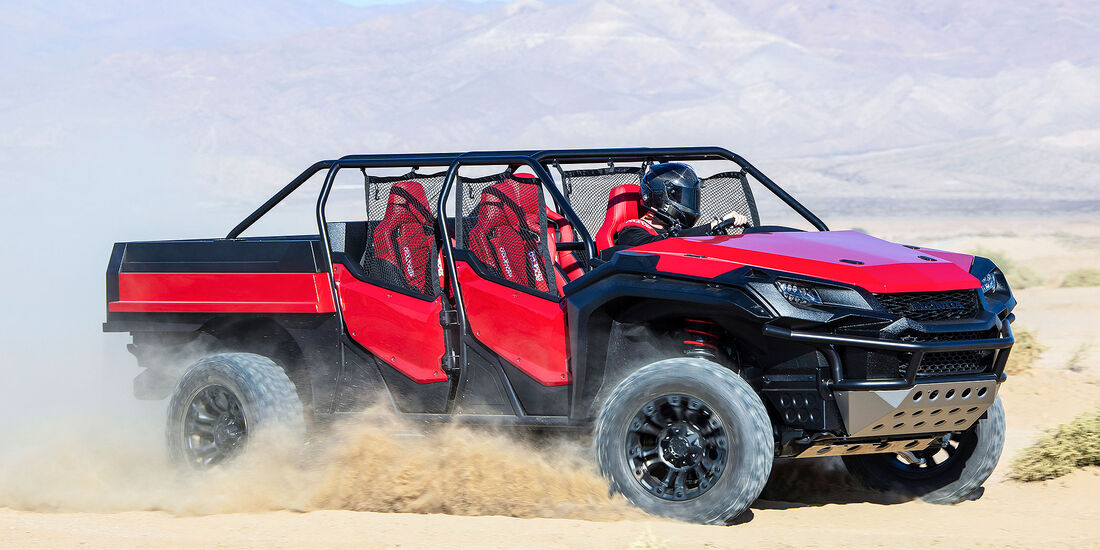 10/2018, Honda Rugged Open Air Vehicle Concept