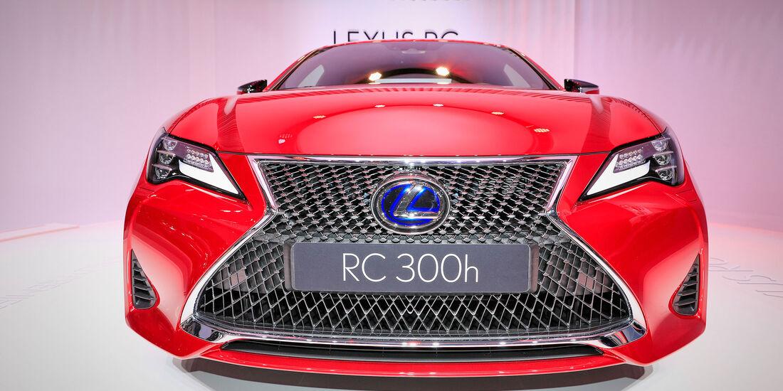 10/2018; Lexus RC Facelift auf dem Pariser Autosalon 2018