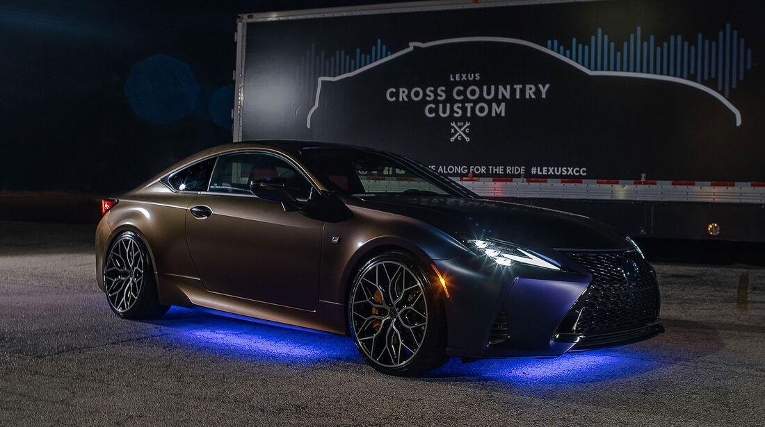 10/2018, Lexus RC XCC Hero