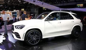 10/2018; Mercedes GLE auf dem Autosalon Paris 2018