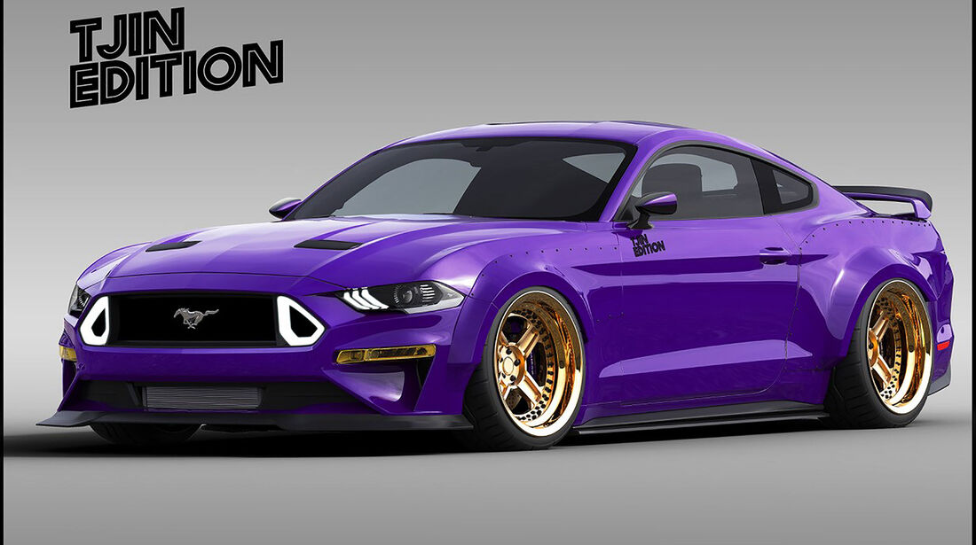 10/2018, TJIN Edition Ford Mustang 2.3 Ecoboost auf der SEMA Show 2018