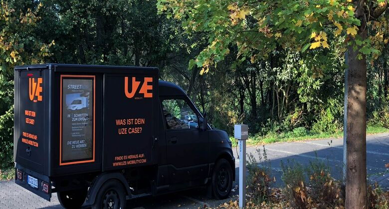 10/2018, UZE Mobility StreetScooter