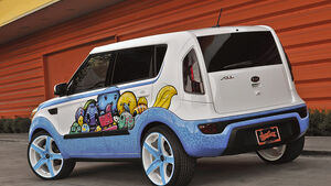 11/2011 Kia Sema 2011, Kia Soul Hole in One