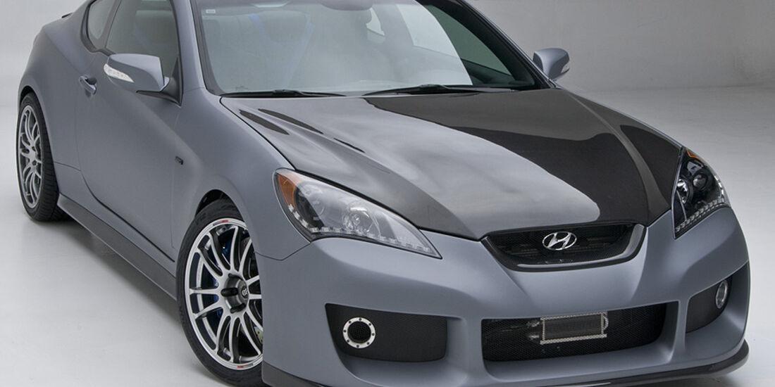 11/2011 SEMA 2011, Hyundai Genesis Hurricane SC