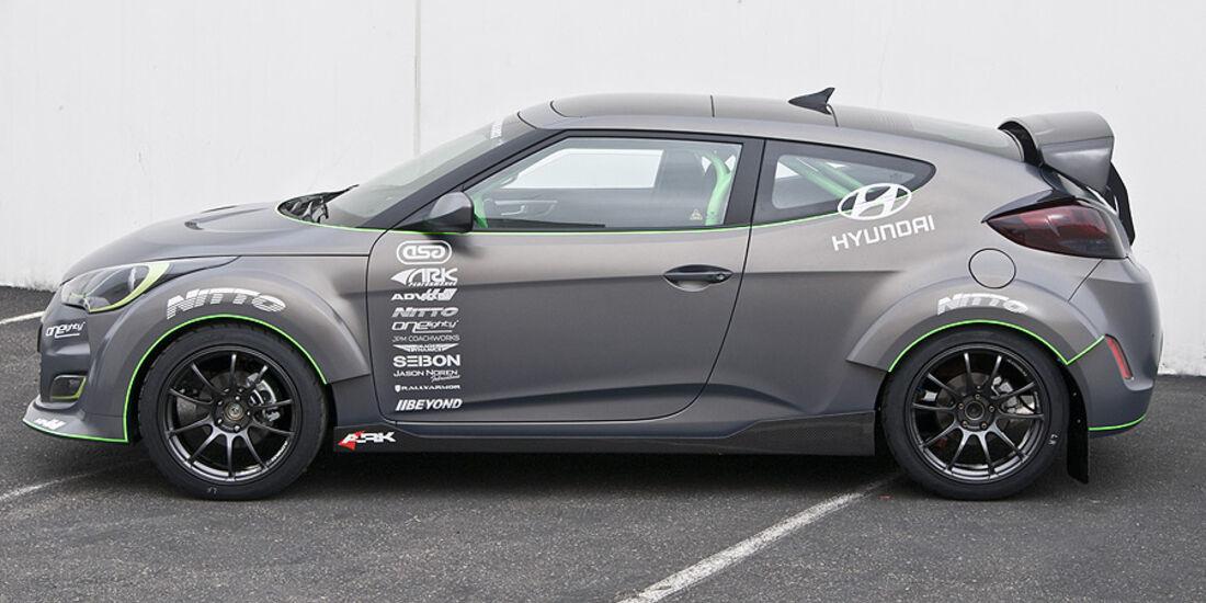 11/2011 SEMA 2011, Hyundai Performance ARK Veloster