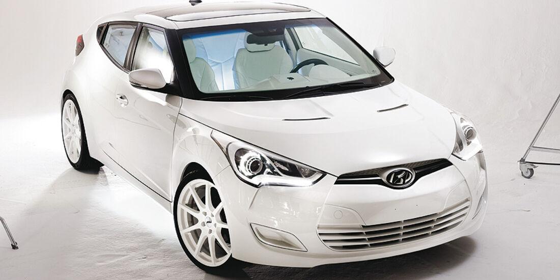 11/2011 SEMA 2011, Hyundai REMIX Veloster Tech