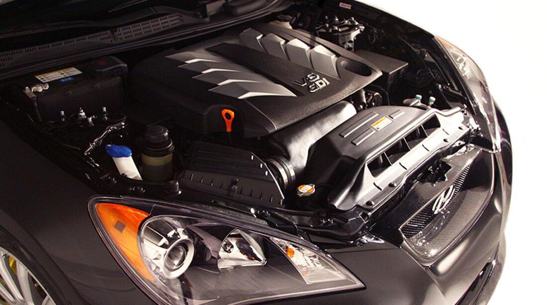 11/2011 SEMA 2011, Hyundai RMR RM500 Genesis Coupe