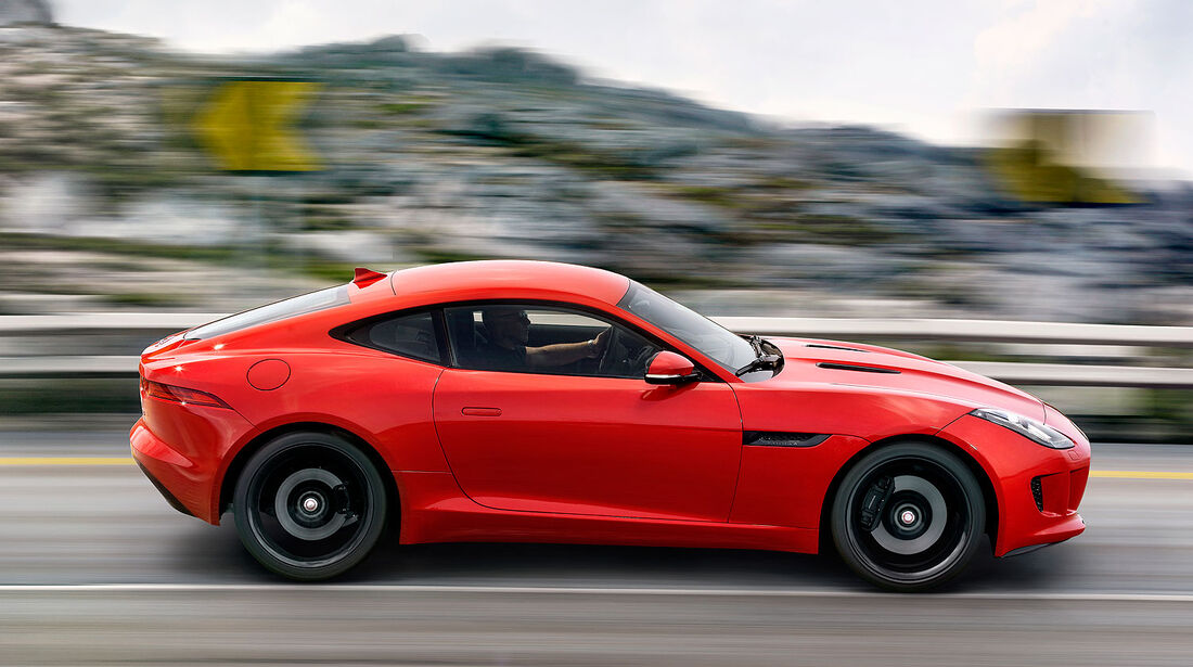 11/2013 Jaguar F-Type Coupé, Sperrfrist 4.30 Uhr