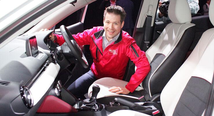 11/2014, Mazda CX-3 Sitzprobe Jochen Knecht
