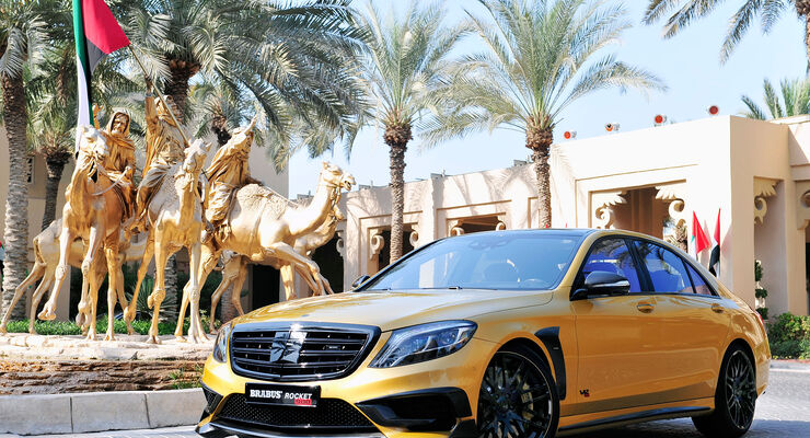 "11/2015 BRABUS ROCKET 900 ""DESERT GOLD"" Edition"