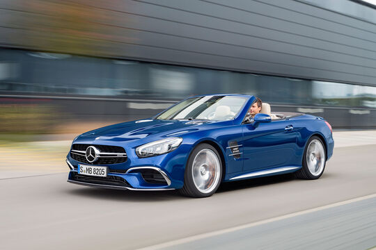 11/2015, Mercedes SL Facelift