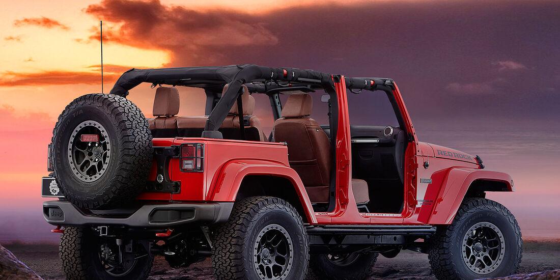 11/2015 Mopar Jeep Wrangler Red Rock Concept