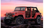 11/2015 Mopar Jeep Wrangler Red Rock Concept