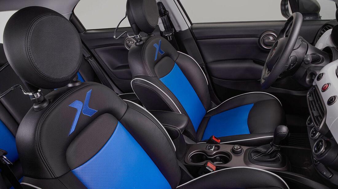 11/2015 Mopar auf der Sema Fiat 500 X Mobo