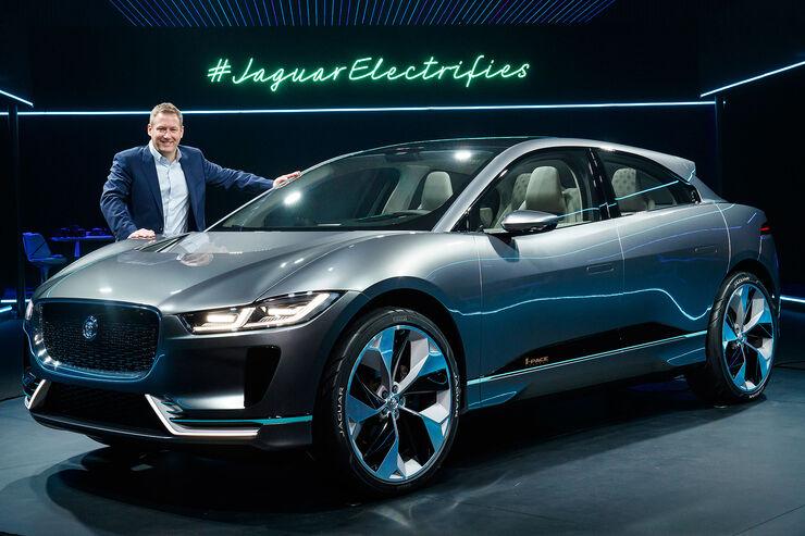 Neuer Jaguar I Pace Elektro Suv F 252 R 75 000 Schafft 500