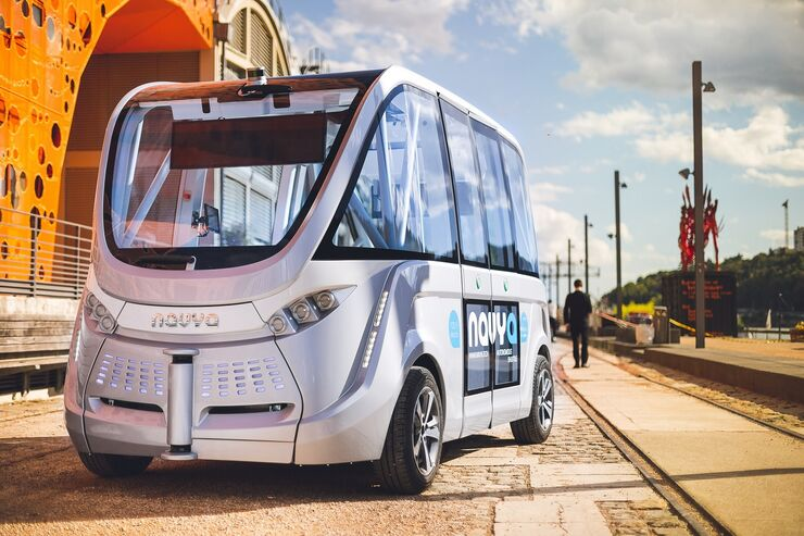 11/2017,  Navya autonome Autos - Bus 2