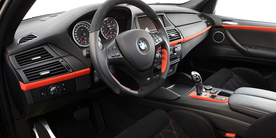 12/2011 G-Power BMW X6 M Typhoon, Innenraum
